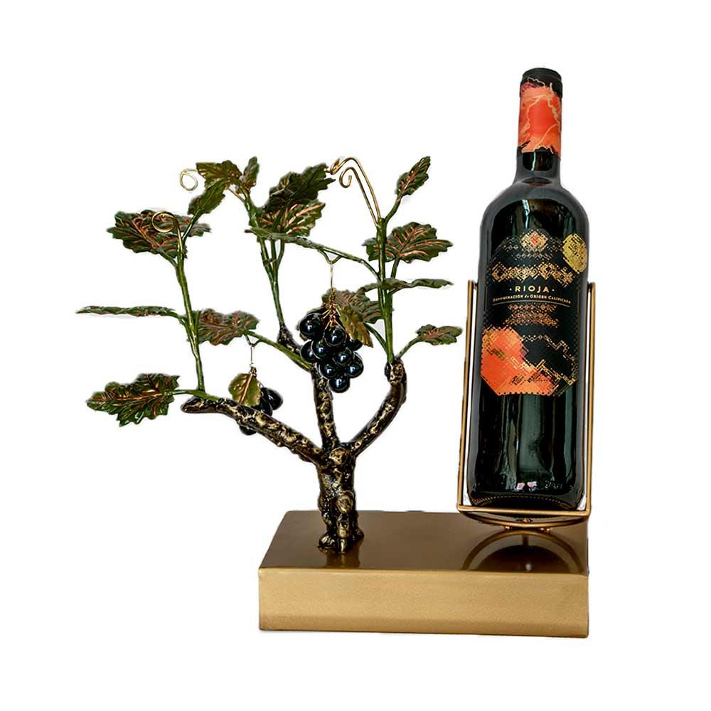 Parra uva negra expositor