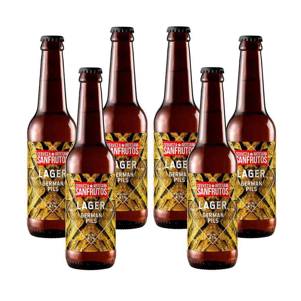 Cerveza Sanfrutos Lager