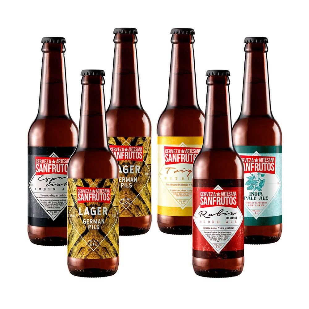 Cerveza Sanfrutos Mix Suaves