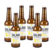 Galana Nº3. Cerveza rubia blonde ale