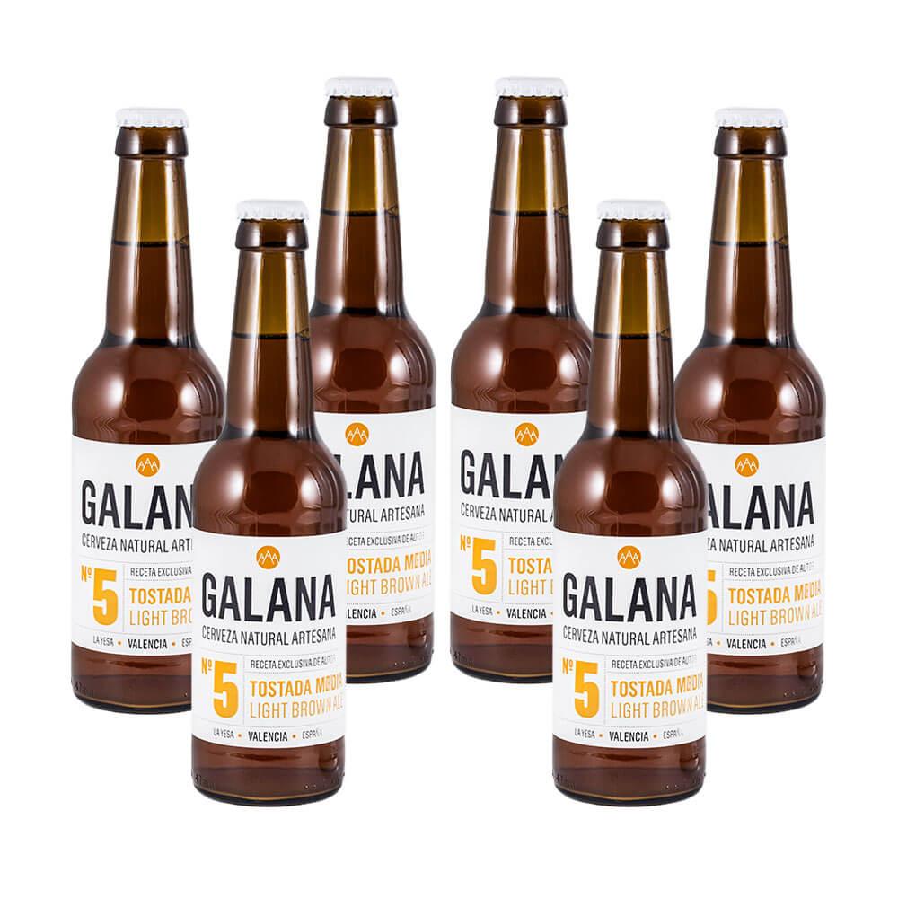Galana N.5 - Cerveza tostada