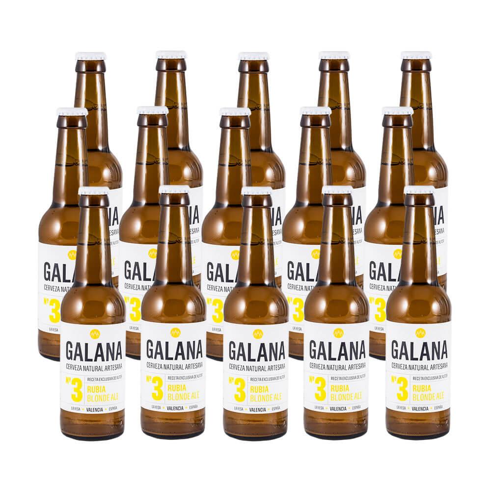Galana N.3 - Cerveza Rubia