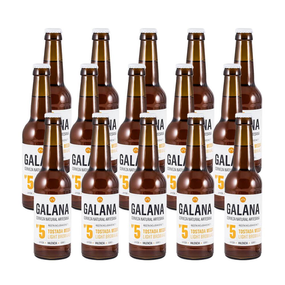 Galana N.5 - Cerveza tostada media