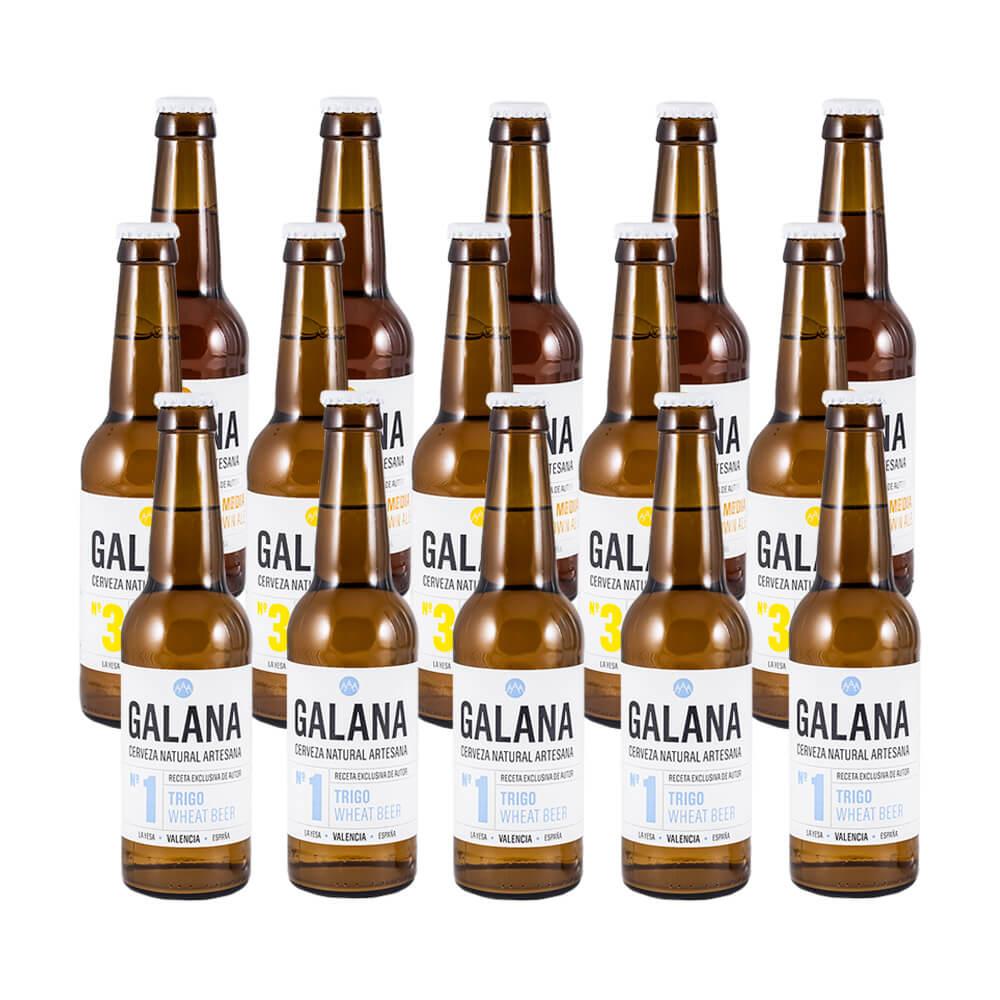 Cervezas Variadas Galana - Caja 15