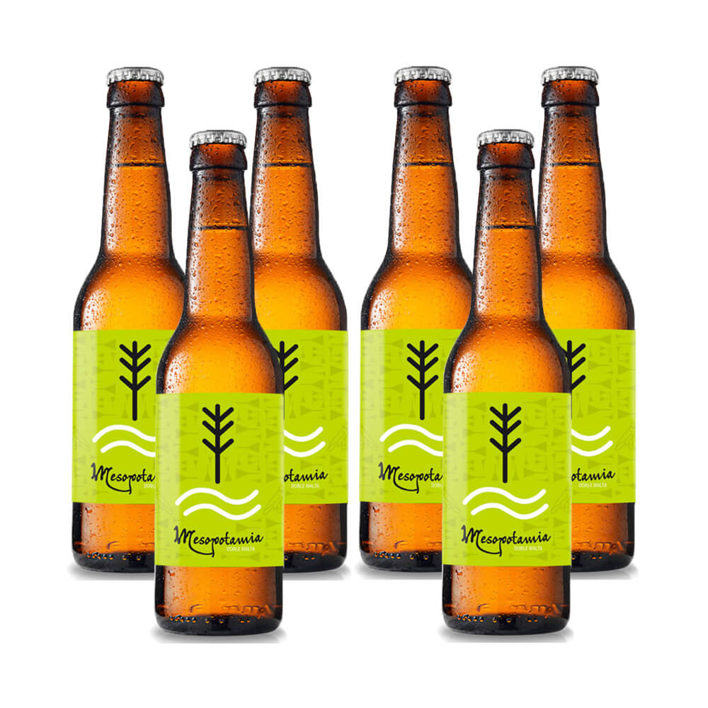 Cervezas Artesana Mesopotamia Pale Ale - Pack 6 botellas 33 cl