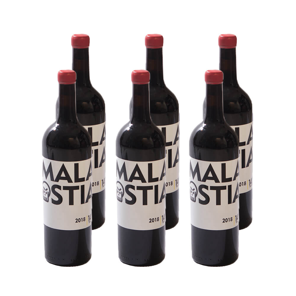 Vino tinto Malaostia- Pack 6 botellas