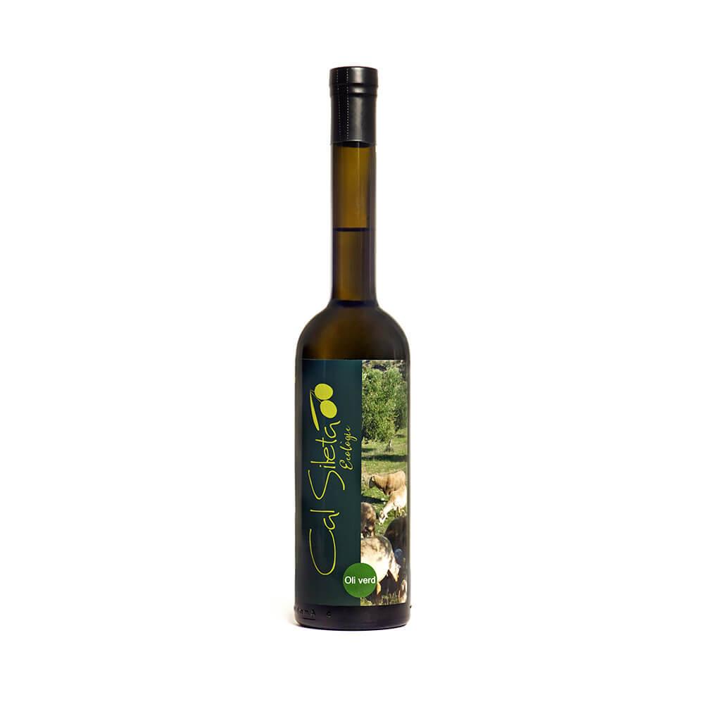 Aceite ecológico Virgen Extra Verde Cal Sileta - Botella 0.5 L