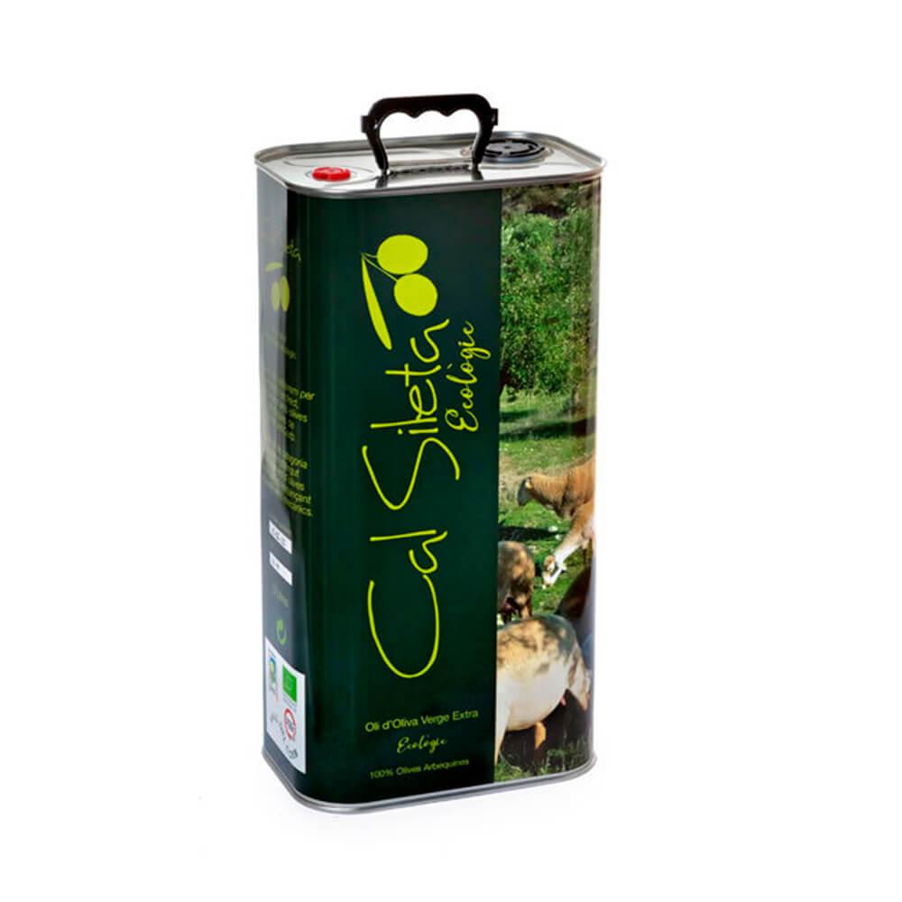 Aceite ecológico Virgen Extra Cal Sileta - Lata 5 L
