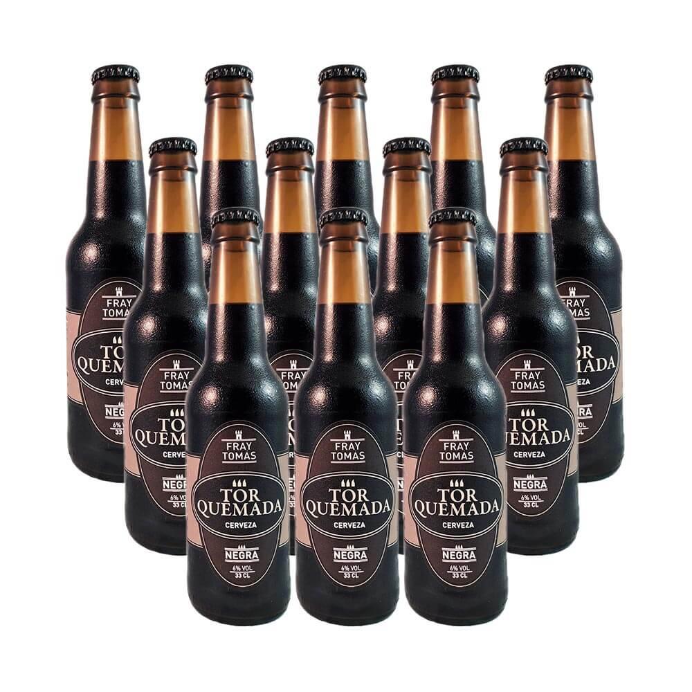 Cerveza Torquemada Fray Tomás - Pack 12 botellas 33 cl